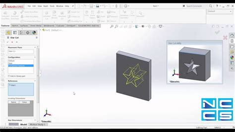 creating a ui pattern library solidworks video creating design library part youtube