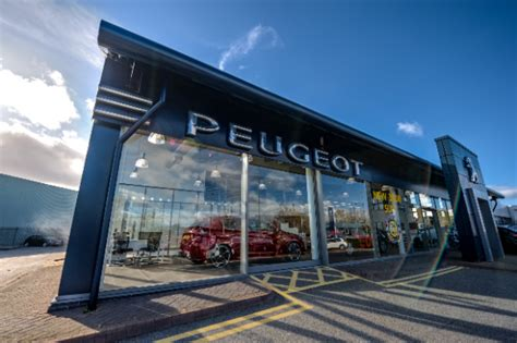 peugeot dealer swansway peugeot chester dealership enjoys 163 300 000