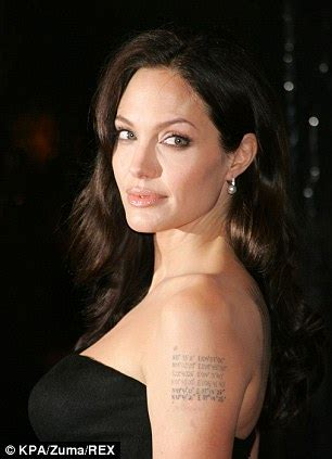 angelina jolie tattoo removal removals surge 440 as thousands follow in