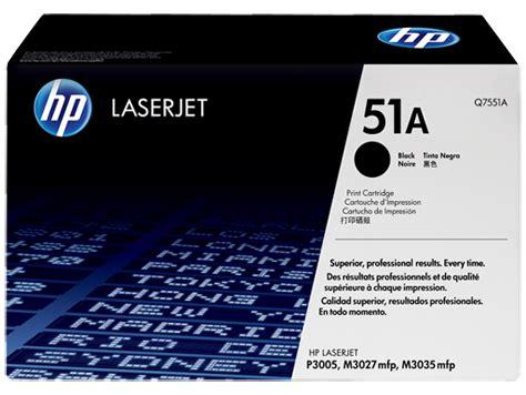 hp 51a black original laserjet toner cartridge q7551a