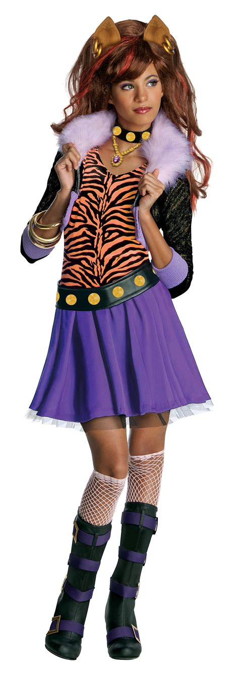 7 Costumes For Your High School by Children S High Clawdeen Wolf S Costume