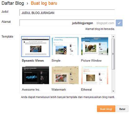 membuat blog gratis selamanya cara membuat website gratis tanpa bayar selamanya