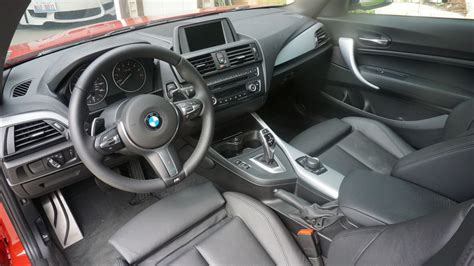 Bmw 1m Interior by Bmw M235i Review Bmw 1m Review Bmw M235 Vs 1m