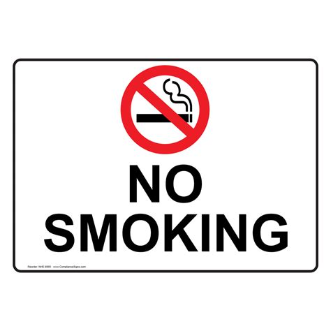 no smoking sign bunnings no smoking sign nhe 6895 no smoking