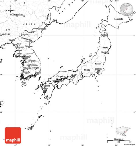 Japan Map Cities Outline by Blank Simple Map Of Japan