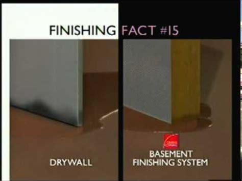 basement wall panels vs drywall installation youtube