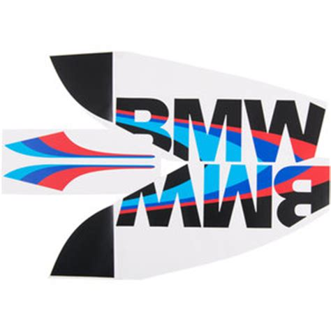 Bmw Motorrad Motorsport Decals by Buy Bmw Motorsport Sticker For Tank And Radiator Cover