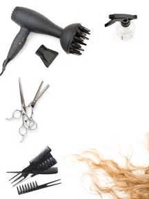 Watering can hair dryer comb scissors salon haircut salon