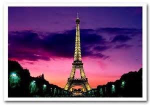 Extra Large Wall Murals eiffel tower at night paris france architecture framed art