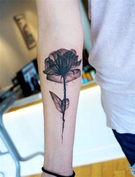 35 x ray flower tattoos that will take your breath away x ray flower tattoo artist flower inspiration