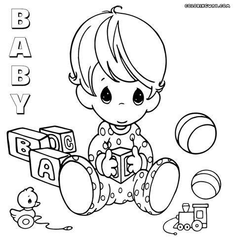 coloring page baby baby coloring pages coloring pages to download and print