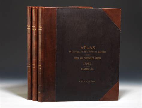 Atlas Records Atlas To Accompany The Official Records Edition Calvin D Cowles Bauman