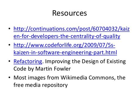 repository pattern martin fowler kaizen sw