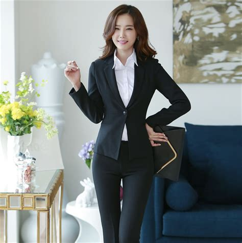 female work suits 2014 fashion 2014 autumn new women work suit with pants womens