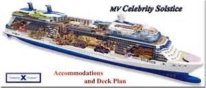 Celebrity Solstice Floor Plan by Mv Celebrity Solstice Accommodations Amp Deck Plans