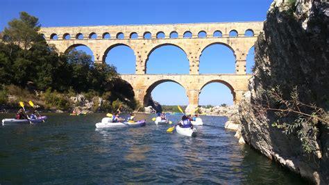 location kayak canoe pont du gard descente en canoe km