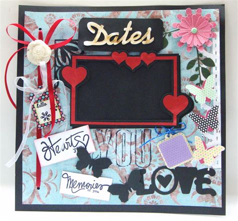 aola handmade cards scrapbook layout