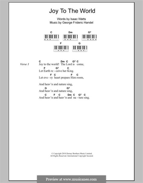 printable lyrics for joy to the world joy to the world printable scores by g f h 228 ndel on
