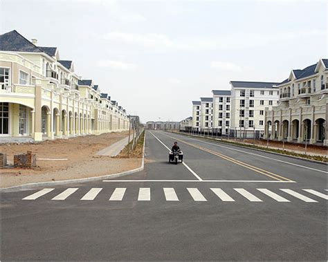 Ordos Modern Ghost Town Photo Essays by Image Gallery Ordos China