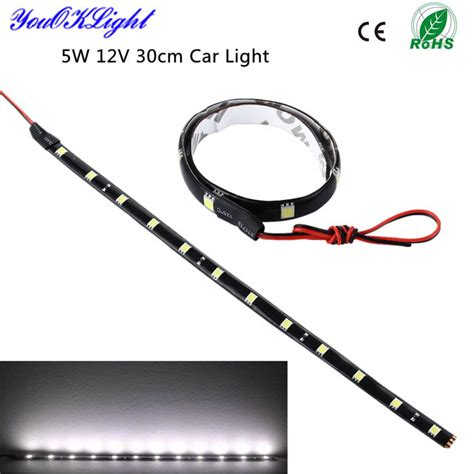 Bestlu Led Sorot Mobil Motor Waterproof Hq youoklight 12v 5w led waterproof car drl light cold white free shipping dealextreme