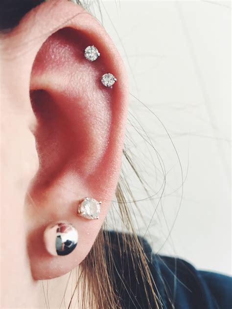 helix cartilage studs earrings
