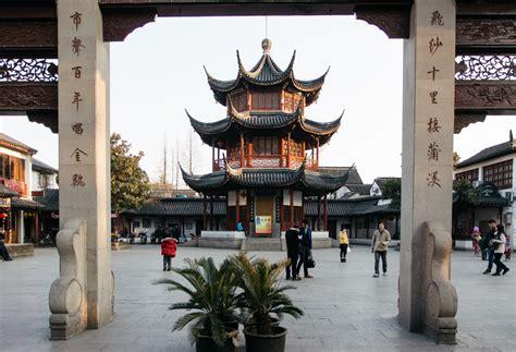 Yn042 C Shanghai Qibao chinatur pacotes para a china qibao a china antiga de shanghai