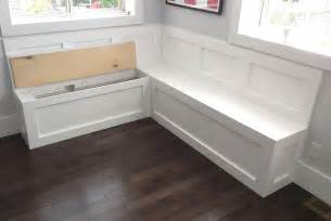 Kitchen Bench Seat With Storage Bench Seating With Storage For Kitchen Pollera Org