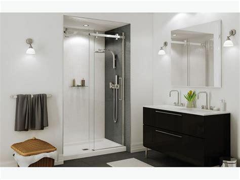 halo shower door brand new maxx 60 quot halo sliding shower door city
