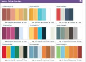 Color Combinations by In Color Color Combinations A Site For Color Nerds