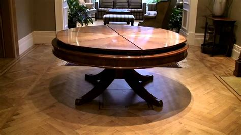 primmer expanding table youtube expandable round dining table youtube