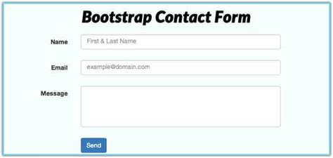22 best php contact form templates web resources free