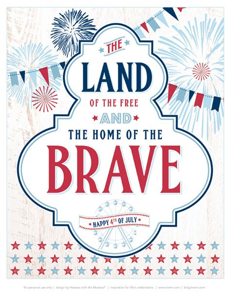 american themed party quotes free printables quot all american county fair quot july 4th party
