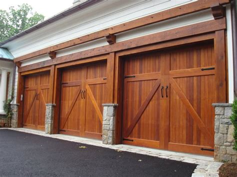 Wood Garage Doors And Carriage Doors Clearville The Overhead Door