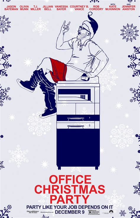 office christmas party dvd release date redbox netflix