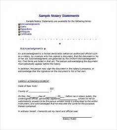 sle notarized letter 6 documents in word pdf