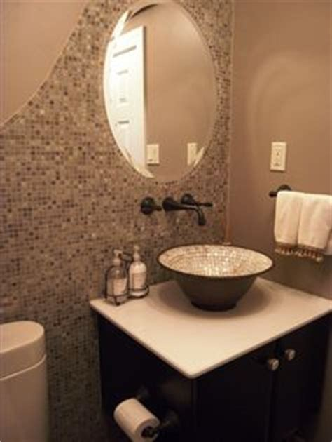 powder room backsplash ideas 1000 images about powder room makeover on pinterest