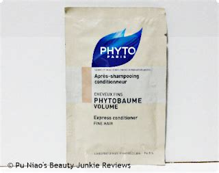 Viva Hair Conditioner phytobaume volume express conditioner review pu niao s