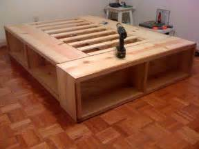Bed Frame Wood Storage Woodwork Storage Bed Wood Plans Pdf Plans