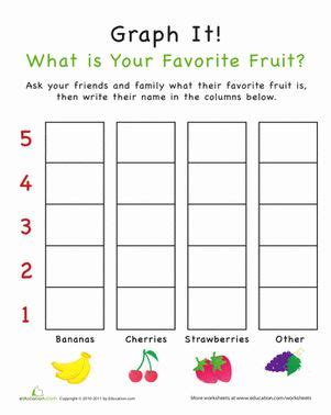 printable graphs for pre k 60 best images about veg worksheet on pinterest