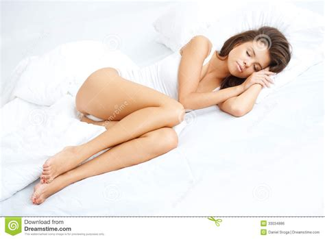 how to be sexier in bed young sexy girl lying on white bed royalty free stock