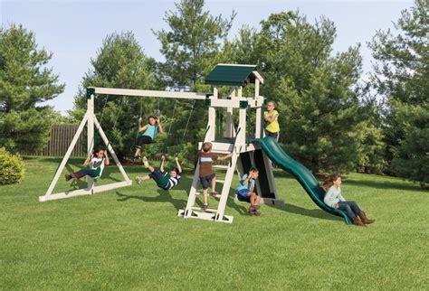 swing set tower swing set towers kid s swing sets adventure world playsets