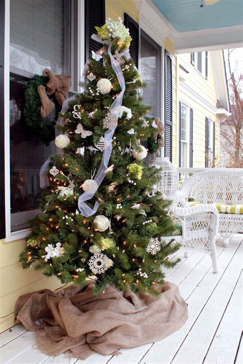 california backyard christmas trees christmas tree post 1 christmas pinterest porch