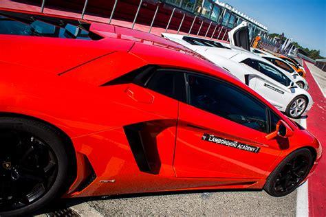 Lamborghini School The Lamborghini Academy At Imola Racetrack Italy