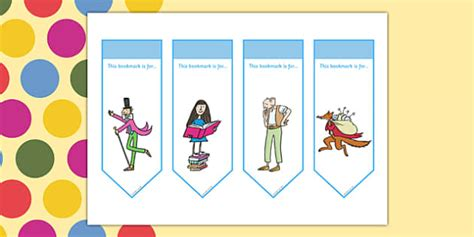printable bookmarks twinkl roald dahl bookmarks roald dahl bookmarks roald dahl