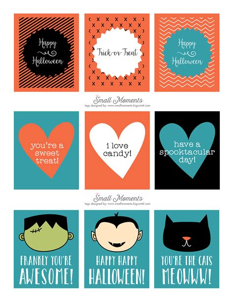 printable halloween tags halloween free printable tags see vanessa craft