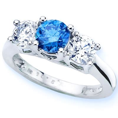 Picture Of A Blue Ring and unique rings