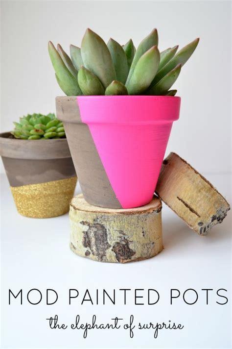 decorazioni vasi oltre 25 fantastiche idee su progetti con vasi di