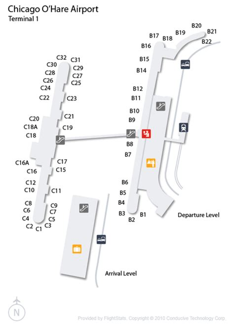 ord airport map chicago airport ord guide fly to chicago with flight