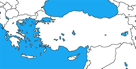 printable map of turkey and greece blank map of europe and greece