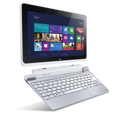 Acer Iconia W510 Dengan Keyboard iconia w510 tablets tech specs reviews acer